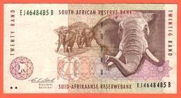 SOUTH  AFRICA  Billet  10 Rand ( 1993 ) Pick 124a UNC - Sudafrica
