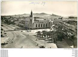 Photo Cpsm Cpm Algérie. BONE. Place De La Gare 1959 - Algeria