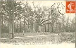COYE - La Justice Chène Historique De St-Louis - TBE - France