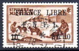 """Saint Pierre Et Miquelon: Yvert N° 278°; Surchargé """"France Libre"""" - Oblitérés"""