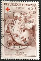 Au Profit De La Croix Rouge -  Rosalie Fragonard N°1366 - Used Stamps