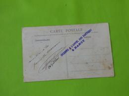 Nancy - Meurthe Et Moselle - 19/4/1907 - Griffe Linéaire Bleue Inconnu à L'appel Des Facteurs à Nancy - 1877-1920: Période Semi Moderne