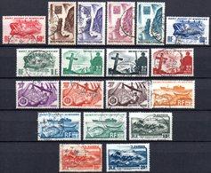 Saint Pierre Et Miquelon: Yvert N° 325/343°; La Série Complète - Used Stamps