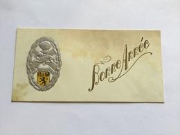 Carte De Vœux Du 509° Régiment De Chars De Combat Années 30 - Documents