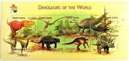 Sierra Leone 2001**Mi.3943-50. Dinosaurs , MNH [17;37] - Briefmarken