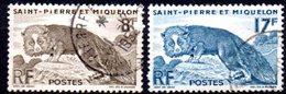 Saint Pierre Et Miquelon: Yvert N° 345/346° - Used Stamps