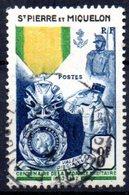 Saint Pierre Et Miquelon: Yvert N° 347° - Oblitérés
