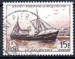 Saint Pierre Et Miquelon: Yvert N° 352° - Oblitérés