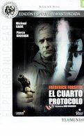 CINEMA DVD - U.K. 1987 - EL CUARTO PROTOCOLO - FOURTH PROTOCOL -MICHAEL CAINE - PIERCE BROSMAN DIR JOHN MACKENZIE - E - Policiers