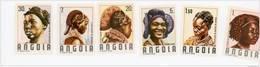 Angola--1987-Coiffures Traditionnelles-734/9*-** MNH-Valeur 10 Euro - Disfraces