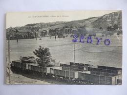 La Talaudière.  Mines De La Chazotte.  Train (wagons). - France