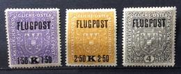AUSTRIA  1918 - POSTA AEREA  FLUGPOST NUOVA - 1918-1945 1st Republic