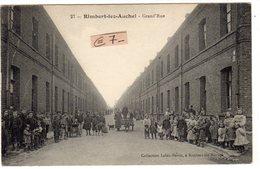 RIMBERT LES AUCHEL (62 Pas De Calais) Voiture à Chien(petit Plan - Grande Rue - France