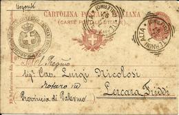 CPA 1897 CARTOLINA ITALIANA  LERCARA FRIDDI PROVINCIA DI PALERMO - Palermo