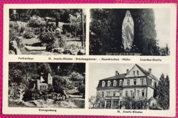 Neunkirchen Parkanlage Sankt Josefs-Kloster Erholungsheim Lourdes-Grotte Zwergenburg - Kreis Neunkirchen