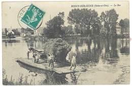 Cpa Rosny Sur Seine - Le Bac - Andere Gemeenten