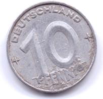 DDR 1952 A: 10 Pfennig, KM 7 - [ 6] 1949-1990 : RDA - Rep. Dem. Alemana