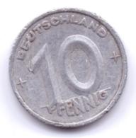 DDR 1949 A: 10 Pfennig, KM 3 - [ 6] 1949-1990 : RDA - Rep. Dem. Alemana