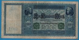 DEUTSCHES REICH 100 Mark21.04.1910# G.0876486 P# 43 - [ 2] 1871-1918 : German Empire