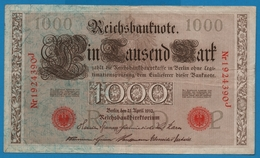 DEUTSCHES REICH 1000 Mark 21.04.1910# 1924390J  P# 44b - [ 2] 1871-1918 : German Empire
