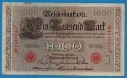 DEUTSCHES REICH 1000 Mark 21.04.1910# 1449643F  P# 44b - [ 2] 1871-1918 : German Empire