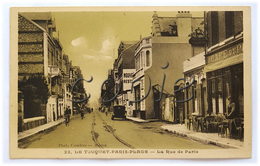 Paris-Plage - Rue De Paris  - Edit. Phot. Combier, Macon - Le Touquet