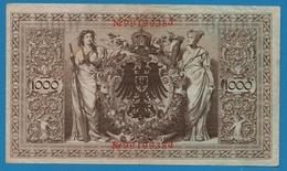DEUTSCHES REICH 1000 Mark 21.04.1910# 9919938J  P# 44b - [ 2] 1871-1918 : German Empire