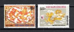 VIETNAM DU SUD   N° 520 + 521   NEUFS SANS CHARNIERE COTE 35.00€    DRAGON - Viêt-Nam