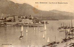 Monaco    Le Port Et Monte Carlo    No.808 - Monte-Carlo