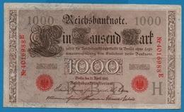 DEUTSCHES REICH 1000 Mark 21.04.1910# 4016988E  P# 44b - [ 2] 1871-1918 : German Empire