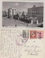 GRECE GREECE GRIECHENLAND. Salonique Salonica PLACE DE LA PREFECTURE - POSTALY USED 1937 TO SWEDEN - Greece