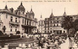 Monte Carlo    Casino Et Hotel De Paris    No.185 - Monte-Carlo
