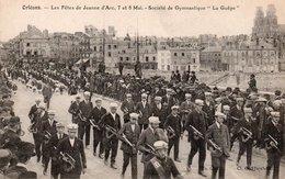 """CPA ORLEANS - LES FETES DE JEANNE D'ARC 7 ET 8 MAI - SOCIETE DE GYMNASTIQUE """"LA GUEPE"""" - Orleans"""