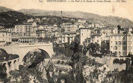 Monte Carlo  Pont Et Le Ravin De  Sainte Devote No.844 - Monte-Carlo