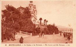 Monte Carlo   Casino   ET TERRASSES   NO 88 - Monte-Carlo