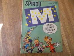 SPIROU: JOURNAL DE SPIROU DU 19 NOVEMBRE 1959-COUVERTURE SIGNEE PAR FRANQUIN 1959-BRIGADE M LE LAIT+ RENAULT DAUPHINE - Franquin