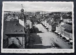 DR Privatpostkarte PP 127 C43-03 Gelaufen Mit Sonderstempel, Schmölln (1482) - Allemagne