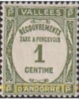Ref. 110879 * MNH * - ANDORRA. French Adm.. 1935. VALUE . CIFRA - Nuevos