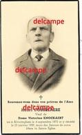 Doodsprentje Henri Dobbelaere Alveringem 1872 En Aldaar Overleden 1959 Knockaert Bidprentje - Devotion Images