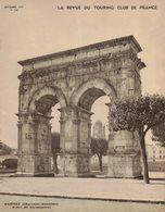 REVUE DU TOURING CLUB DE FRANCE 538 1939 ROCHECOURBON SAINTES ST PORCHAIRE SAVINIEN FENIOUX HONFLEUR HENNEBONT BENOIST - 1901-1940
