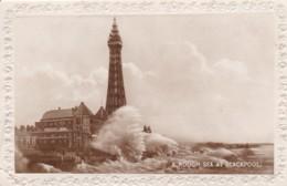 BLACKPOOL - ROUGH SEA - Blackpool