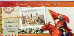 CARNETS COMMÉMORATIFS -   BC 714     - Châteaux Et Demeures Historiques   -     -  2012 -   Neuf Et Non Plié - Commemorrativi