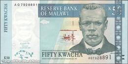 TWN - MALAWI 45b - 50 Kwacha 1.1.2003 Prefix AQ UNC - Malawi