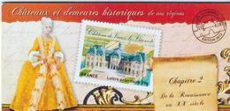 CARNETS COMMÉMORATIFS   -   BC 726     - Châteaux Et Demeures Historiques     -  2012  -  Neuf Et Non Plié - Commemorrativi