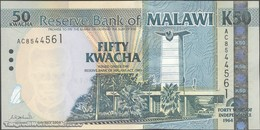 TWN - MALAWI 49 - 50 Kwacha 6.7.2004 40th Ann. Independence - Prefix AC UNC - Malawi