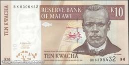 TWN - MALAWI 51a - 10 Kwacha 1.6.2004 Prefix BK UNC - Malawi