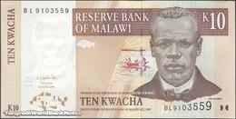 TWN - MALAWI 51a - 10 Kwacha 1.6.2004 Prefix BL UNC - Malawi
