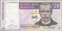 TWN - MALAWI 52a - 20 Kwacha 1.6.2004 Prefix AJ UNC - Malawi