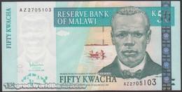 TWN - MALAWI 53a - 50 Kwacha 31.10.2005 Prefix AZ UNC - Malawi