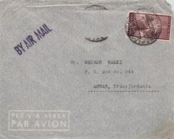 ITALIEN - 2x AIRMAIL - AMMAN/JORDAN  /ak409 - 1946-60: Gebraucht